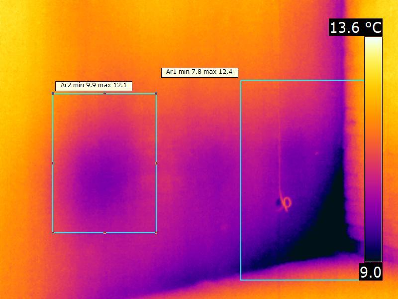 мостик холода - как проявляется внутри: охлаждение стены